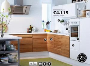 Los muebles para la cocina